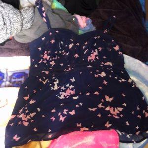 Torrid tank top blouse